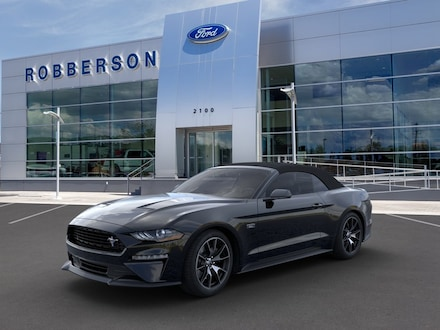 Featured New 2021 Ford Mustang Ecoboost Convertible Convertible for Sale in Bend, OR