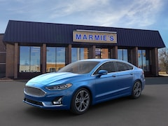 New 2020 Ford Fusion Titanium Sedan in Great Bend near Russell
