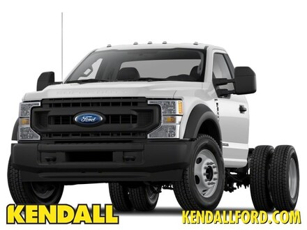 2021 Ford F-550 Chassis F-550 XL Commercial-truck