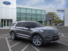 New 2020 Ford Explorer Platinum SUV in Auburn, MA