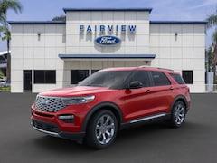 New 2020 Ford Explorer Platinum SUV for sale in San Bernardino