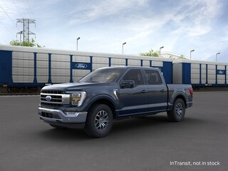 2021 Ford F-150 Lariat 4WD Supercrew 5.5 Box Truck