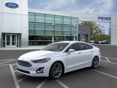 New 2020 Ford Fusion Hybrid Titanium Sedan in Auburn, MA
