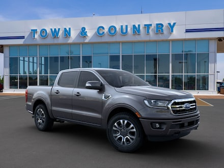 Featured new 2019 Ford Ranger LARIAT Truck SuperCrew for sale in Evansville, IN