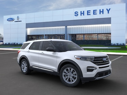 New 2020 Ford Explorer XLT SUV for sale near you in Springfield, VA