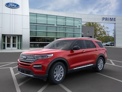 New 2020 Ford Explorer Limited SUV in Auburn, MA