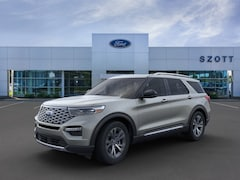 New 2020 Ford Explorer Platinum SUV for sale in Holly, MI