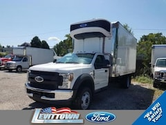 2019 Ford F-550 Chassis XL 16ft Refrigerated Box Truck Regular Cab