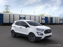 New 2021 Ford EcoSport S Crossover MAJ6S3FL6MC410075 in Rochester, New York, at West Herr Ford of Rochester