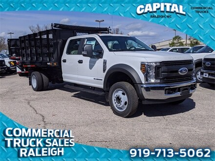 2019 Ford F-550SD 12FT Stake BED Truck