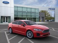New 2020 Ford Fusion Hybrid SE Sedan in Auburn, MA