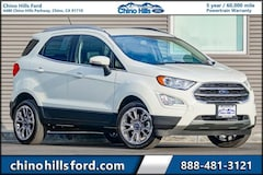 New 2020 Ford EcoSport Titanium SUV for sale in Chino, CA