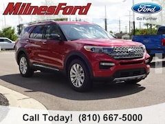 New 2020 Ford Explorer Limited SUV 1FMSK8FHXLGA05549 for sale in Imlay City