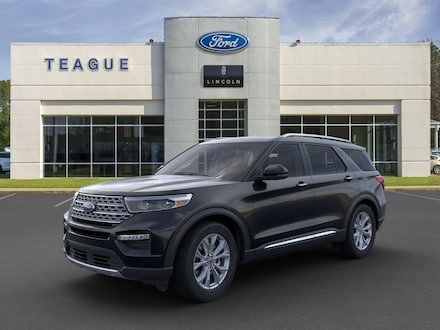 Featured new 2021 Ford Explorer Limited SUV for sale in El Dorado, AR