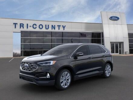 New 2020 Ford Edge Titanium Sport Utility Buckner, KY
