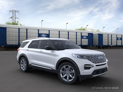 New 2021 Ford Explorer Platinum SUV 1FM5K8HC9MGA93106 in Rochester, New York, at West Herr Ford of Rochester