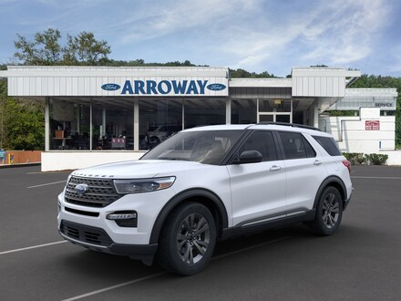 Featured New 2021 Ford Explorer XLT SUV for Sale in Bedford Hills, NY