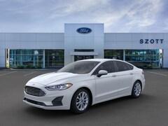 New 2020 Ford Fusion SE Sedan 3FA6P0HDXLR166839 in Holly, MI