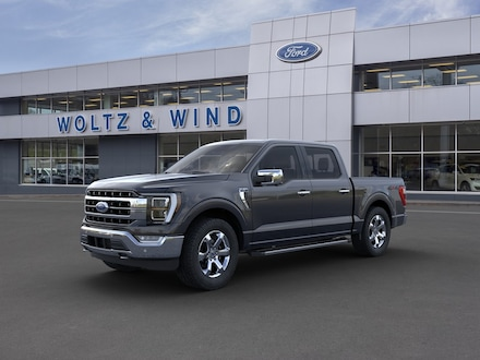 Featured New 2021 Ford F-150 Lariat Truck SuperCrew Cab 1FTFW1E88MFC23435 for Sale in Heidelberg, PA