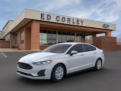 New 2020 Ford Fusion S Front-wheel Drive Sedan 3FA6P0G79LR200278 Gallup, NM