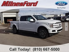 New 2020 Ford F-150 Lariat Truck 1FTEW1E47LFB08123 for sale in Imlay City