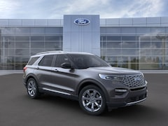 New 2020 Ford Explorer Platinum SUV 1FM5K8HC9LGC43584 in Rochester, New York, at West Herr Ford of Rochester