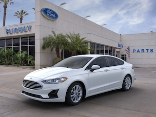 New 2020 Ford Fusion Hybrid SE Sedan 3FA6P0LU7LR224591 For sale near Fontana, CA