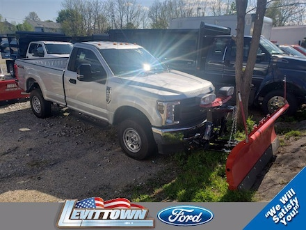 Featured New 2019 Ford F-250 XL Plow Truck 4WD W/Plow for Sale in Levittown, NY