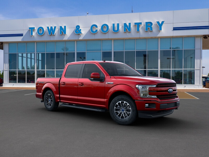 Featured new 2019 Ford F-150 LARIAT Truck SuperCrew Cab for sale in Evansville, IN