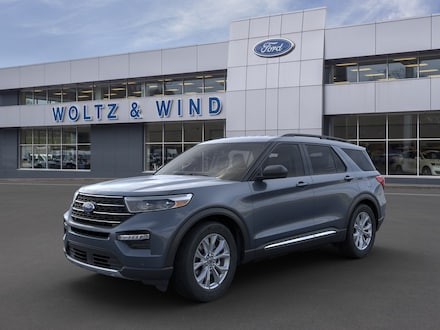 Featured New 2021 Ford Explorer COURTESY LOANER SAVE BIG SUV 1FMSK8DH2MGA28635 for Sale in Heidelberg, PA