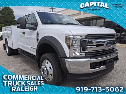 2019 Ford F-550SD XLT 9FT Service Body Truck