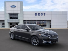New 2020 Ford Fusion Hybrid Titanium Sedan Nashua, NH