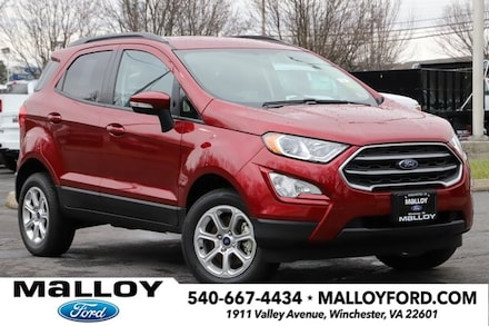 Featured New 2021 Ford EcoSport SE SUV for Sale in Winchester, VA