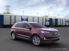 New 2020 Ford Edge SEL Crossover 2FMPK4J91LBB26394 in Rochester, New York, at West Herr Ford of Rochester