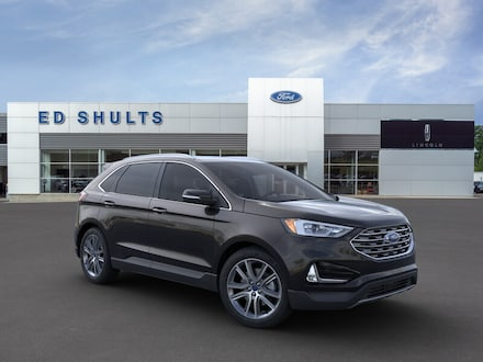 Featured New 2019 Ford Edge Titanium SUV for Sale in Jamestown, NY