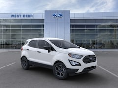 New 2020 Ford EcoSport S Crossover MAJ6S3FL2LC342842 in Rochester, New York, at West Herr Ford of Rochester