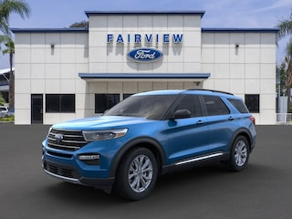 New 2020 Ford Explorer XLT SUV 1FMSK7DH3LGB42247 For sale near Fontana, CA