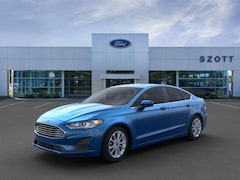 New 2020 Ford Fusion SE Sedan 3FA6P0HD2LR146892 in Holly, MI