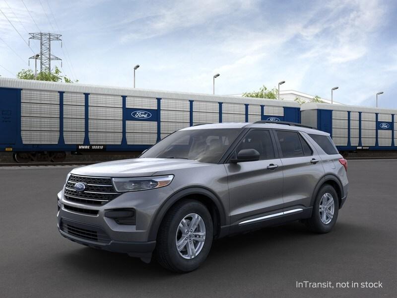New 2021 Ford Explorer XLT SUV in Merrillville, IN
