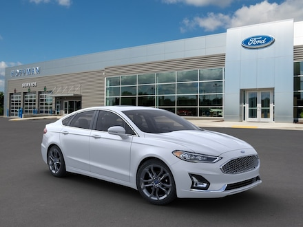 2020 Ford Fusion Hybrid Hybrid Titanium Sedan