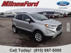 New 2020 Ford EcoSport SE SUV MAJ6S3GL0LC320465 for sale in Imlay City