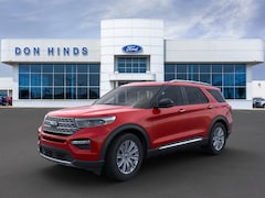 New 2020 Ford Explorer Limited Limited 4WD in Fishers, IN