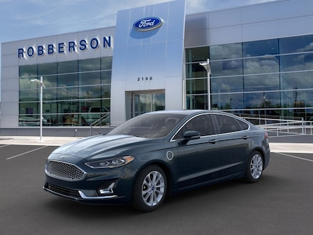 Featured New 2020 Ford Fusion Energi Plug-in Hybrid Titanium Sedan for Sale in Bend, OR