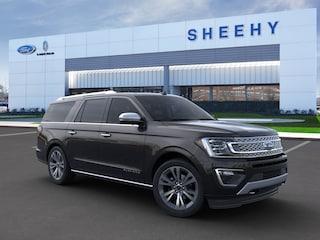 New 2020 Ford Expedition Max Platinum SUV in Richmond, VA