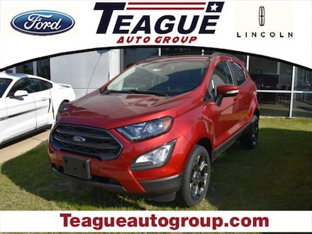 Featured new 2018 Ford EcoSport SES SUV for sale in El Dorado, AR