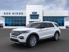 New 2020 Ford Explorer Limited Limited RWD in Fishers, IN