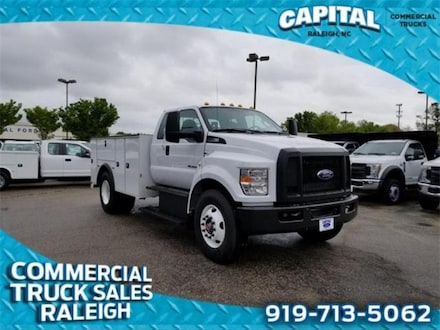 2019 Ford F-750SD 11FT Service Body Truck
