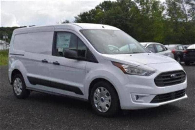 2019 Ford Transit Connect XLT Cargo Van Extended Rear Symmetrical Doors Van