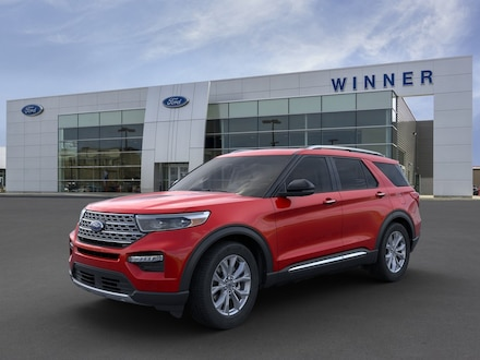 Featured new 2021 Ford Explorer Limited SUV for sale in Dover, DE