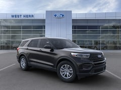 New 2021 Ford Explorer Base SUV 1FMSK8BH9MGA93002 in Rochester, New York, at West Herr Ford of Rochester